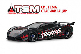 XO-1 4WD 1:7 Brushless TQi Bluetooth Module TSM Красный