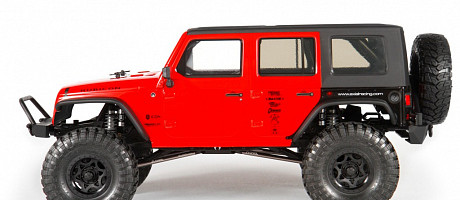 SCX10™ 2012 Jeep® Wrangler Unlimited Rubicon